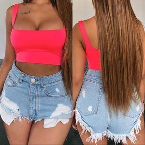 🆕 ➳ Summer Lovin' Distressed High Waist Shorts